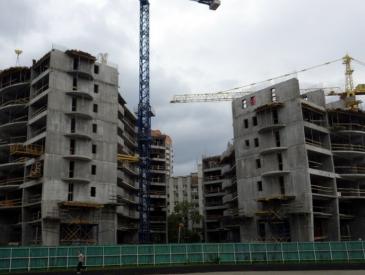 Статус строительства жилого комплекса премиум-класса Alter Ego (май 2016)